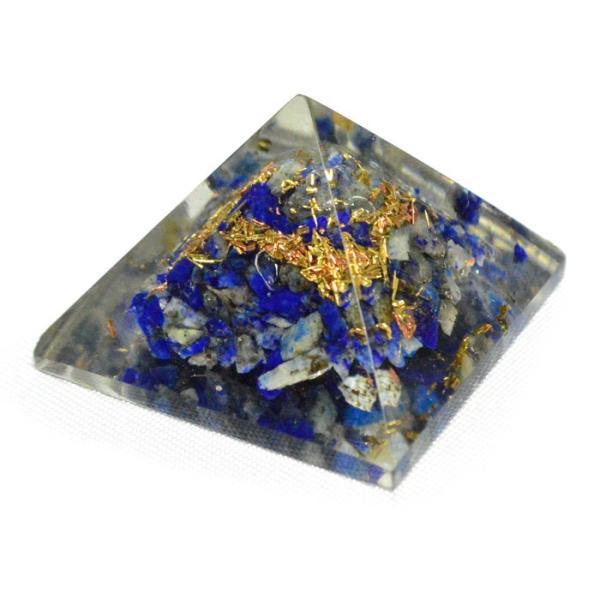 パワーストーン 置き物 ミニオルゴナイト ピラミッド 天然石|ccr|12