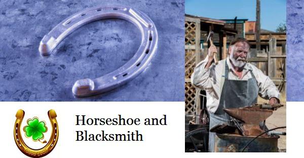 馬蹄と鍛冶屋さん 幸運 ラッキーチャーム