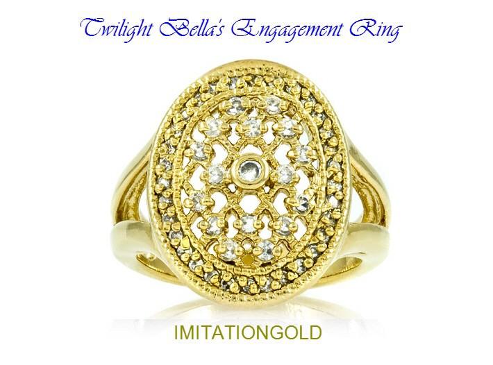ベラのエンゲージリング|映画「トワイライト・エクリプス」より|ダイヤモンド婚約指輪