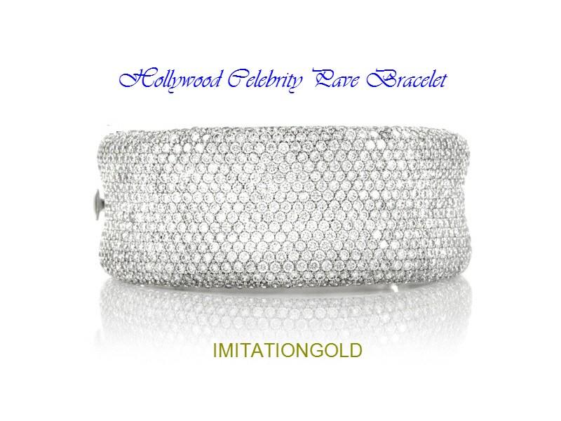 パヴェダイヤモンド ブレスレット | マライア・キャリー ファッション