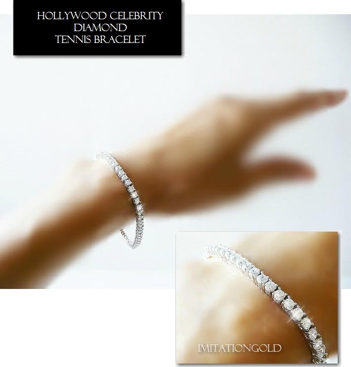 ダイヤモンド テニスブレスレット ペネロペ ・クルス コレクション