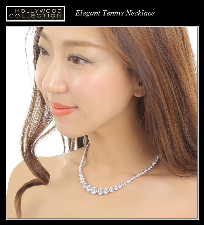 ダイヤモンド ネックレス|ペネロペ・クルス アカデミー賞ファッション