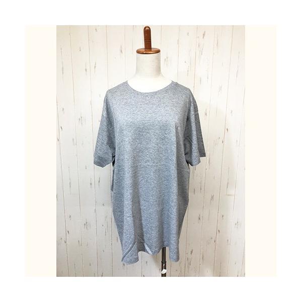 トップス レディース 大きいサイズ Tシャツ 無地 大きいTシャツ レディース半袖カットソー Tシャツ|celeb-honey|13