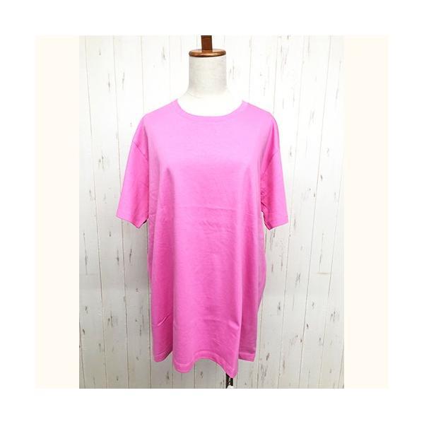 トップス レディース 大きいサイズ Tシャツ 無地 大きいTシャツ レディース半袖カットソー Tシャツ|celeb-honey|15