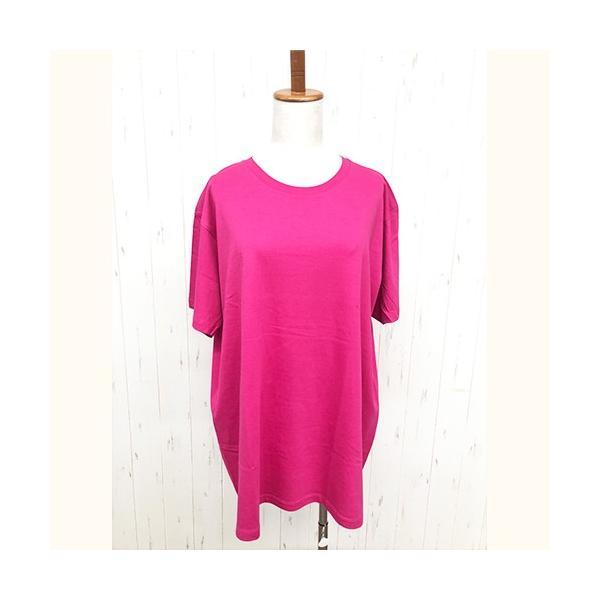 トップス レディース 大きいサイズ Tシャツ 無地 大きいTシャツ レディース半袖カットソー Tシャツ|celeb-honey|16