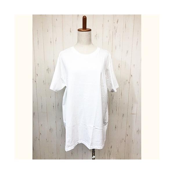 トップス レディース 大きいサイズ Tシャツ 無地 大きいTシャツ レディース半袖カットソー Tシャツ|celeb-honey|17