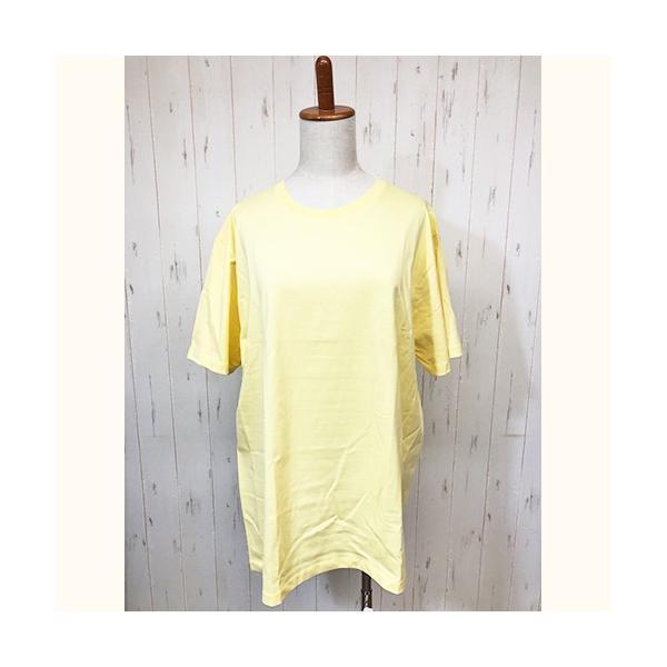 トップス レディース 大きいサイズ Tシャツ 無地 大きいTシャツ レディース半袖カットソー Tシャツ|celeb-honey|19
