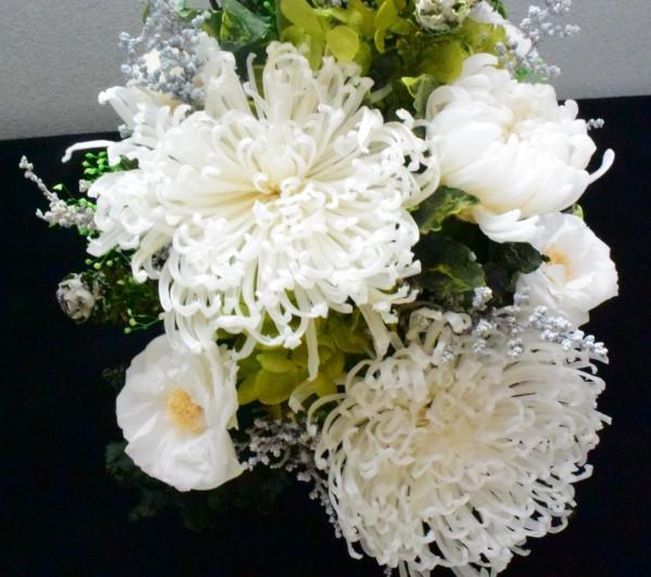 枯れない花の  お供え花/仏花/お悔やみ      プリザーブドフラワー
