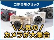 人気のカメラが大集合