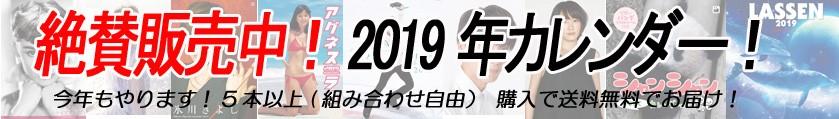 毎年恒例!今年もやります!組み合わせ自由!5本以上で送料無料!2019年度版カレンダー!