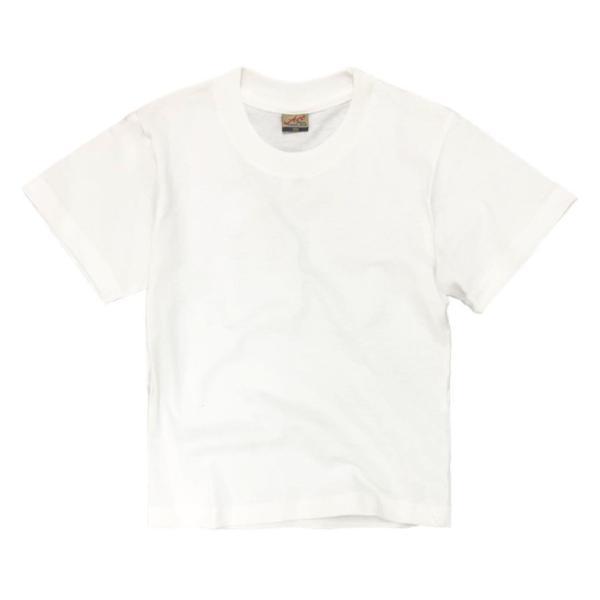 子供 半袖 Tシャツ 無地 ACE 5.4oz ホワイト ブラック グレー KIDS キッズ|chara-basket|10