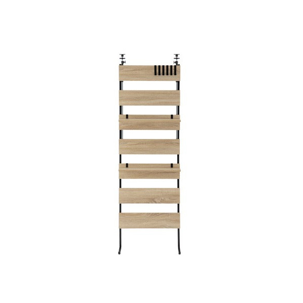本棚 おしゃれ 薄型 diy 突っ張り棒 突っ張り棚 つっぱり式ウォールラック ウォールシェルフ 賃貸 レイアウト ディスプレイ 薄型 転倒防止 幅60|charisma-bon|22