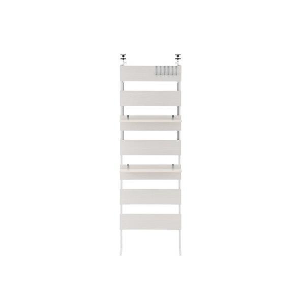 本棚 おしゃれ 薄型 diy 突っ張り棒 突っ張り棚 つっぱり式ウォールラック ウォールシェルフ 賃貸 レイアウト ディスプレイ 薄型 転倒防止 幅60|charisma-bon|23