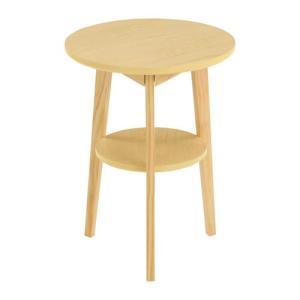 ナイトテーブル ベッドサイドテーブル テーブル ソファ ソファーサイドテーブル 丸形 北欧 おしゃれ 木目 コーヒーテーブル|charisma-bon|16