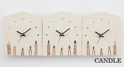 3つのKizuna時計 CANDLE