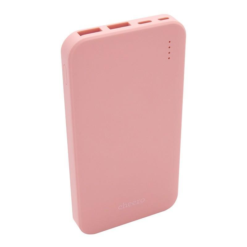 モバイルバッテリー 大容量 急速充電 iPhone / iPad / Android チーロ cheero Bloom 10000mAh 3ポート出力 USB-C USB-A PSEマーク付|cheeromart|11