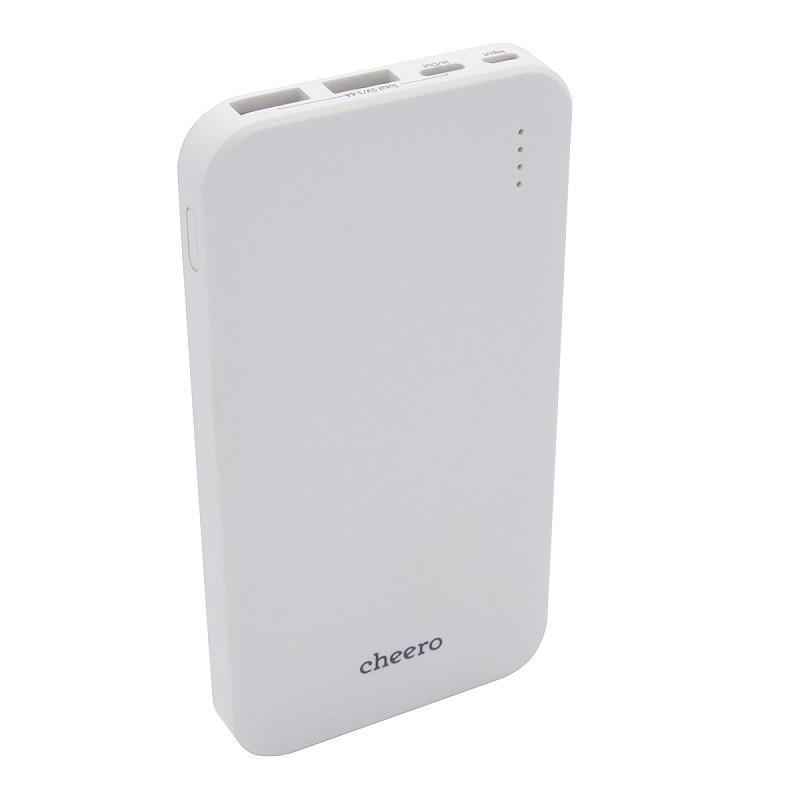 モバイルバッテリー 大容量 急速充電 iPhone / iPad / Android チーロ cheero Bloom 10000mAh 3ポート出力 USB-C USB-A PSEマーク付|cheeromart|12