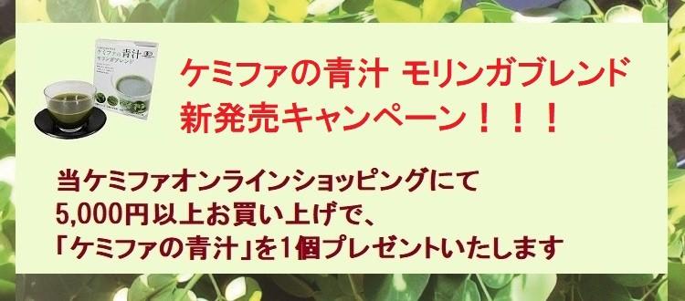 青汁新発売キャンペーン