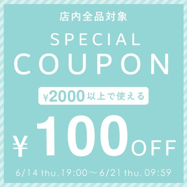 【2000円(税込)で100円OFF】スペシャルクーポン