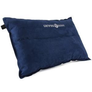 枕 枕/エアーピロ エアピロー 自動膨張式 エアー枕 旅行 車中泊 アウトドア キャンプ CAMPING BUDDY|chikyuya|08