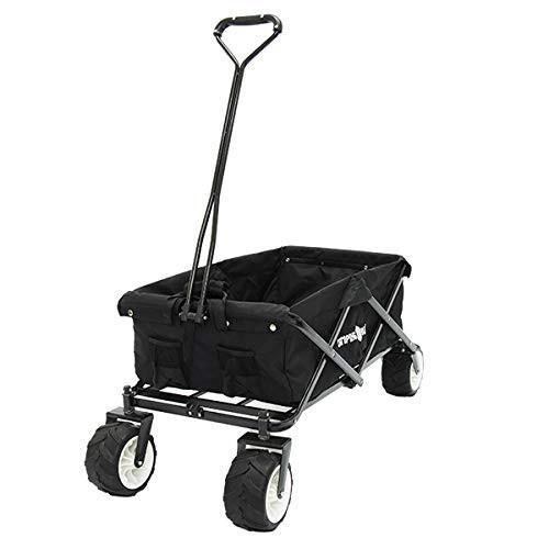 キャリーカート キャリーワゴン 折りたたみ式 アウトドアワゴン タイヤ大きい 耐荷重120kg コンパクト キャンプ 送料無料|chikyuya|14