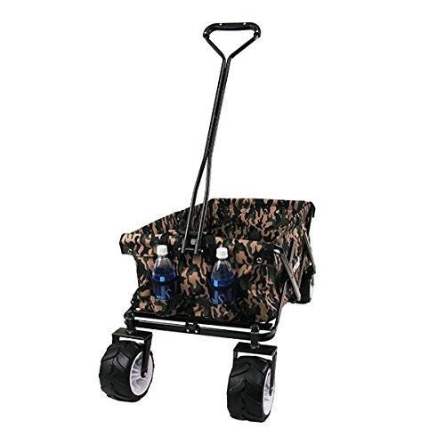 キャリーカート キャリーワゴン 折りたたみ式 アウトドアワゴン タイヤ大きい 耐荷重120kg コンパクト キャンプ 送料無料|chikyuya|13