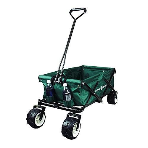 キャリーカート キャリーワゴン 折りたたみ式 アウトドアワゴン タイヤ大きい 耐荷重120kg コンパクト キャンプ 送料無料|chikyuya|09