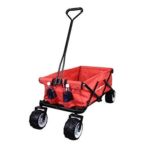 キャリーカート キャリーワゴン 折りたたみ式 アウトドアワゴン タイヤ大きい 耐荷重120kg コンパクト キャンプ 送料無料|chikyuya|10