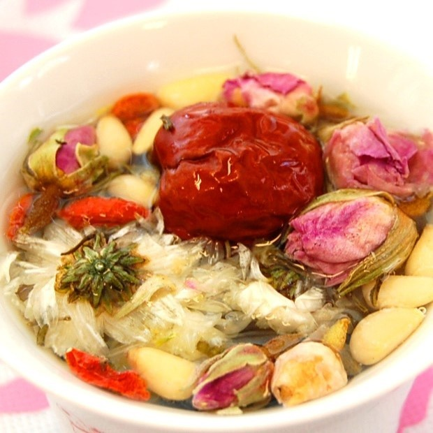 季節の特別な ほっこり♪に「大紅袍」「八宝茶」を。もちろん、いつもの ほっこりも♪ 中国茶事始め。