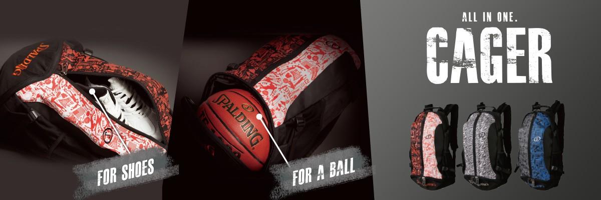 スポルディング ケイジャー 40-007 SPALDING バスケットボールバッグ バックパック バスケットリュック チョイス逸品館