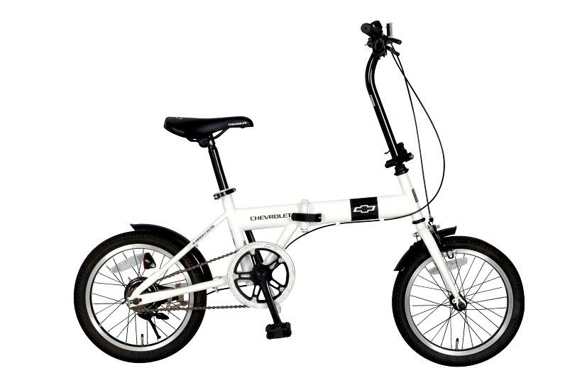 折りたたみ自転車 16インチ CHEVROLET シボレー FDB16 MG-CV16 折畳み自転車 ミムゴ FDB-16 MGCV16 送料無料 通信販売 bicycle チョイス逸品館 取扱店 通信販売