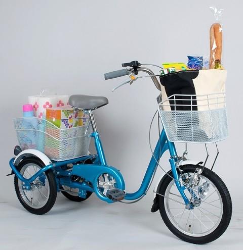 三輪自転車 SWING CHARLIE スイングチャーリー ロータイプ MG-TRE16SW-BL 大人用三輪自転車 三輪車 ミムゴ 送料無料 取扱店 チョイス逸品館