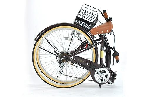 折りたたみ自転車 26インチ My Pallas マイパラス M-506 M506 折畳タウンサイクル 6段変速 6SP 折畳み自転車 折畳自転車 Cycle 送料無料 池商 取扱店 チョイス逸品館