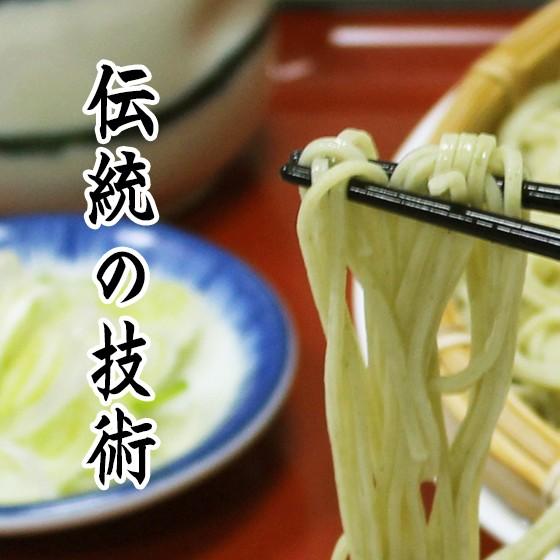 伝統技術の蕎麦