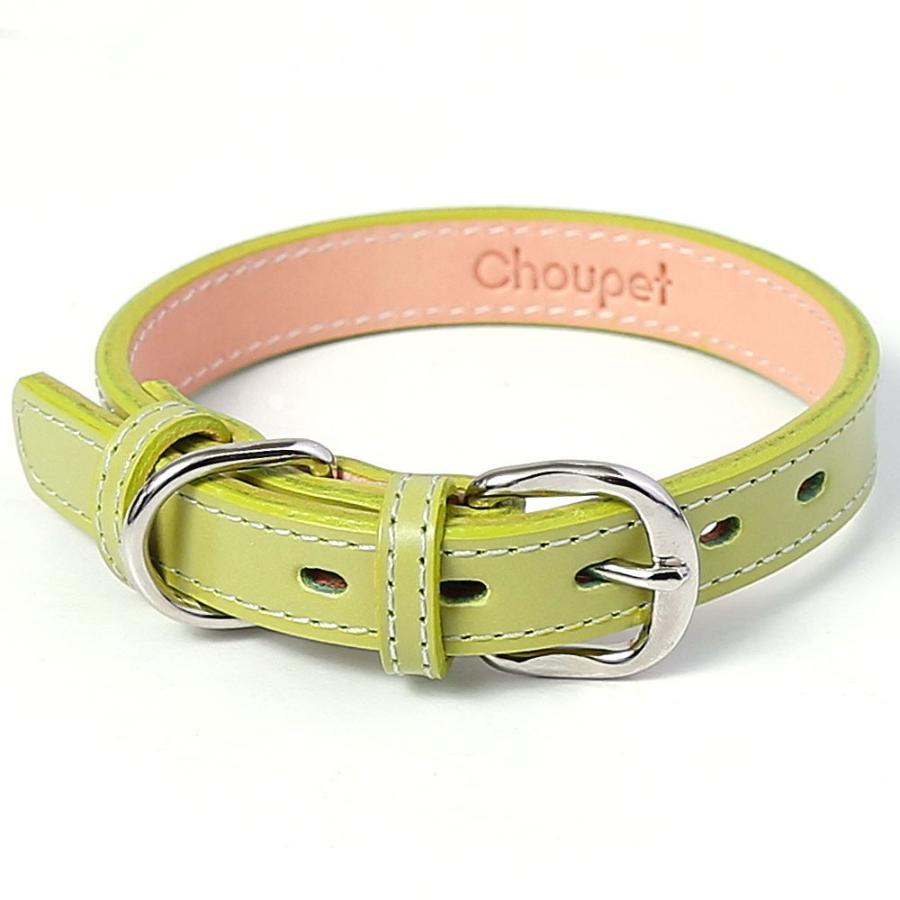 犬 首輪 犬の首輪 小型犬 中型犬 革 革製 皮 本革 レザー 栃木レザー おしゃれ かわいい カラー シンプル 15mm 18mm|choupet|13