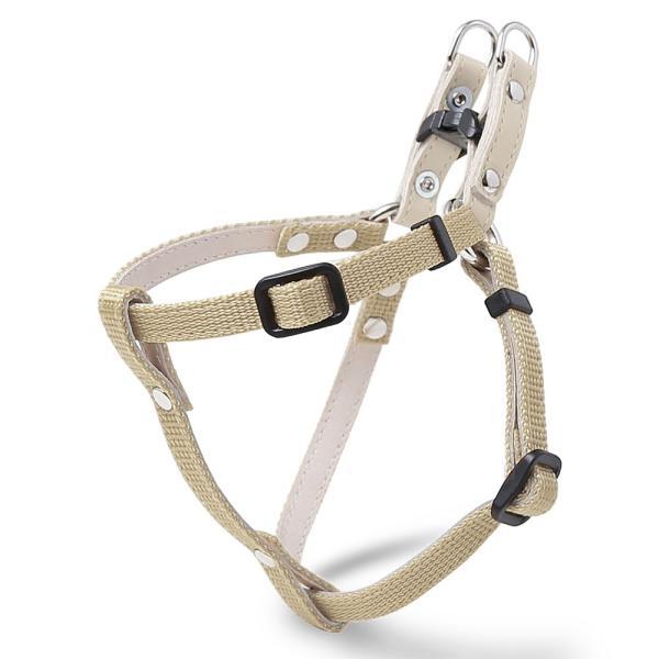 犬 ハーネス 迷子札 名前入り ネームタグ 犬のハーネス 胴輪 小型犬 ナイロン 軽量 おしゃれ かわいい シンプル カラー リード 10mm 首輪|choupet|26
