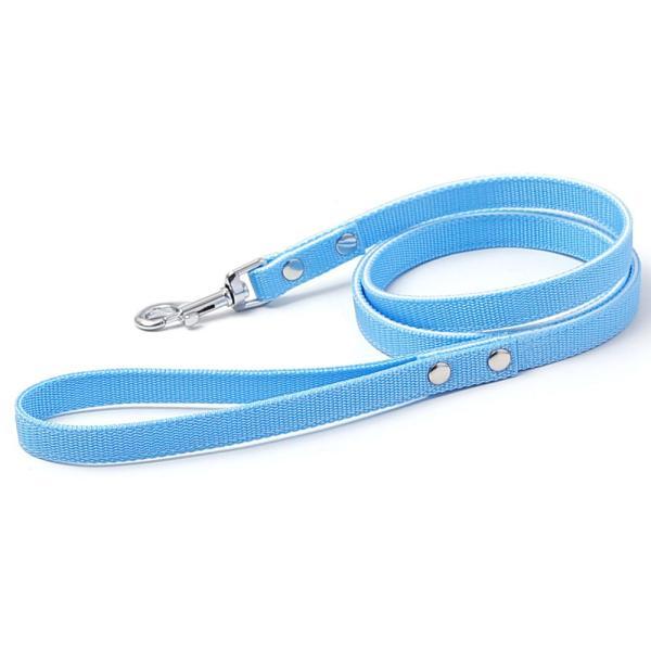犬 リード 犬のリード 小型犬 中型犬 ナイロン おしゃれ かわいい カラー 15mm 首輪|choupet|15