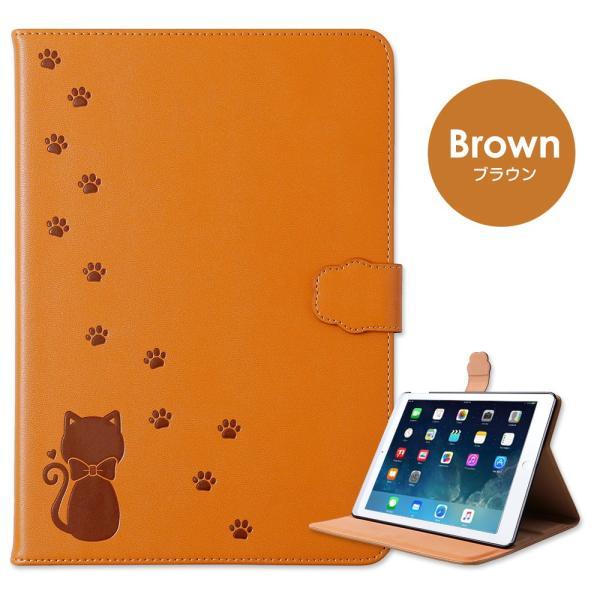 iPad ケース 第7世代 pro mini4 mini5 air3 2019 2018 2017 第6世代 第5世代 9.7 Pro10.5 アイパッド 手帳型 保護カバー スタンド おしゃれ かわいい 猫 ねこ|choupet|21