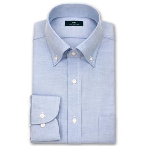 ワイシャツ Yシャツ メンズ 長袖 | SHIRT MAKER CHOYA | 形態安定加工 ボタンダウンシャツ 5種 おしゃれ 父の日 プレゼント ギフト 父親 お父さん(190517-20)|choyashirts|07