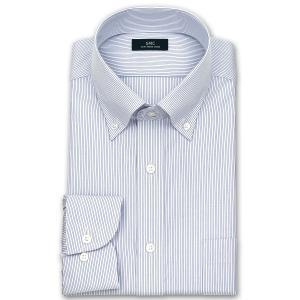 ワイシャツ Yシャツ メンズ 長袖 | SHIRT MAKER CHOYA | 形態安定加工 ボタンダウンシャツ 5種 おしゃれ 父の日 プレゼント ギフト 父親 お父さん(190517-20)|choyashirts|09