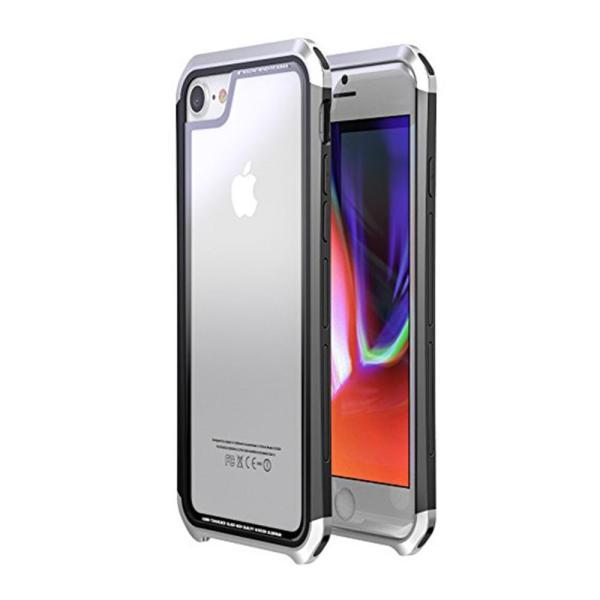 iPhone ケース iPhone8 iPhone7 plus iPhoneXR iPhoneXS Max 背面ガラス 3パーツ 多機種対応 メタル|cincshop|23
