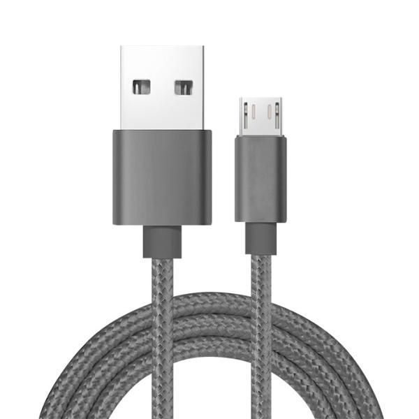 【2m】MicroUSB アンドロイド 充電ケーブル MicroUSB 充電器 高速充電 データ転送 Xperia / Nexus / Galaxy / AQUOS コード ナイロン ロング cincshop 19