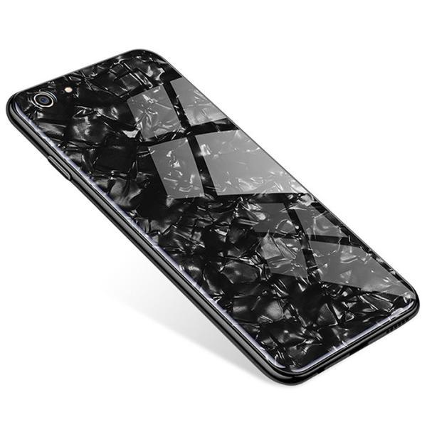 iPhone ケース iPhone8 iPhone7 plus iPhoneXR iPhoneXS Max 背面ガラス クリスタル シェル 風 レビューを書いて追跡なしメール便送料無料可|cincshop|18