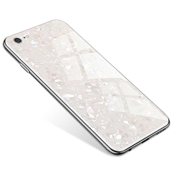 iPhone ケース iPhone8 iPhone7 plus iPhoneXR iPhoneXS Max 背面ガラス クリスタル シェル 風 レビューを書いて追跡なしメール便送料無料可|cincshop|20