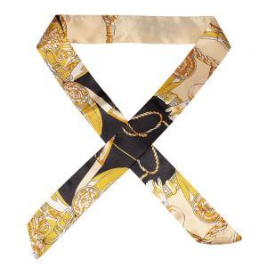ツイリースカーフ バッグスカーフ バッグ用スカーフ スカーフ サテン ハンドルスカーフ ロングスカーフ バッグ 持ち手 カバン アクセサリー CINC SHOP PayPayモール店