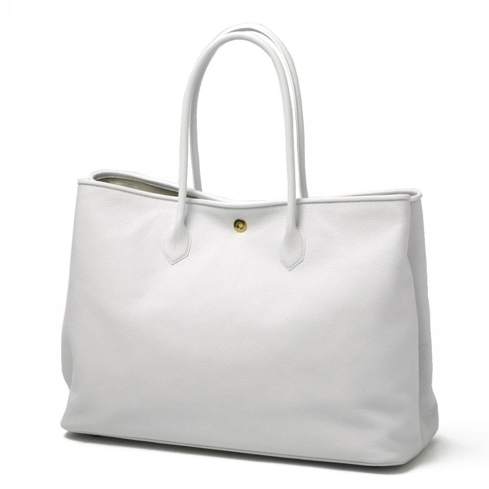 CISEI【チセイ/シセイ】トートバッグ Tote bag 941 LINDOS BIANCO シボ革 ホワイト