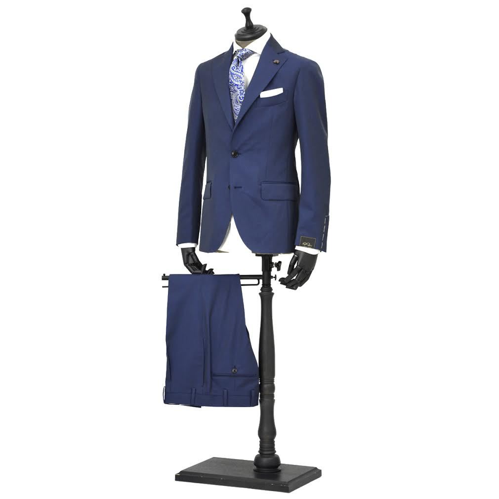 Gabriele Pasini【ガブリエレ パジーニ】シングルスーツ JG11536Q GF1113 210R 999 ウール ソラーロ ブルー