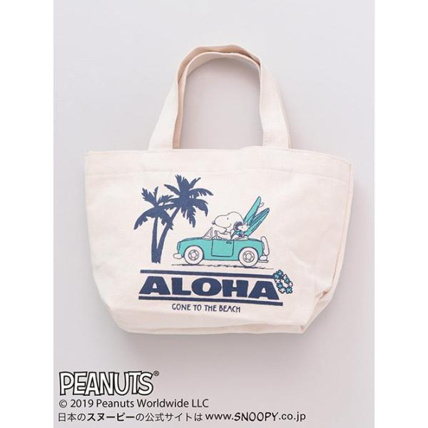 ミニトート バッグ Kahiko SNOOPY レイミニトート スヌーピー ハワイ 雑貨 可愛い clara-hawaii 10