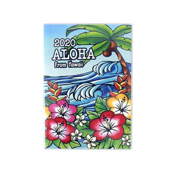 手帳 2020 B6 ハワイアン手帳 スケジュール 雑貨 Kahiko おしゃれ 可愛い|clara-hawaii|09