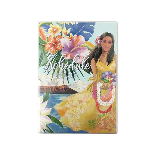 手帳 2020 B6 ハワイアン手帳 スケジュール 雑貨 Kahiko おしゃれ 可愛い|clara-hawaii|10